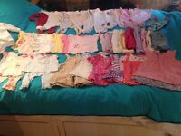 Baby girls 3-6 month clothes