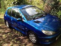 Peugeot 206 Blue 2005 Zest 3