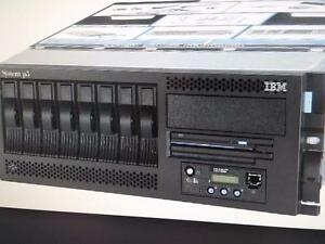 IBM 9131 52A Server 1.9GHz 2-Way POWER5+ 4GB Memory/ 2x 72GB diskAIX Pseries