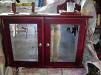 Bathroom Cabinet wood Mahogany