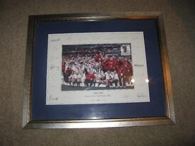 Rugby Union Print England World Cup Winners 2003