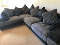 DFS Corner Sofa, Rotating chair and storage foot stall
