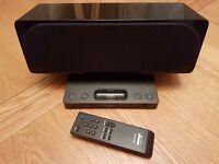 Sony ipod speaker dock