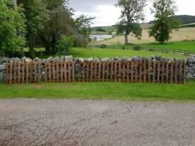 Pallet racking deck boards. Fence panels or decking etc