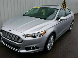 2016 Ford Fusion SE AWD/LEATHER/MOONROOF/BACKUP CAM/BLUETOOTH/HE