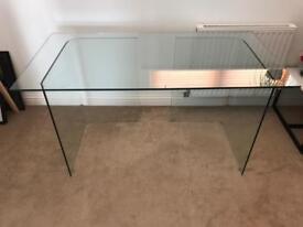 John Lewis glass desk