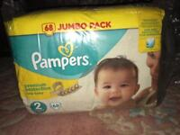 Baby nappies Pampers premium protection