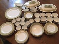"Royal Doulton ""Sonnet"" dinner service, eight place setting plus some spares."