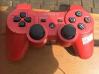 Limited edition scarlet Red Ps3 controller