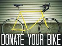 Bike donations wanted