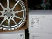 "DEZENT 17"" inch Alloy wheels 5x100 AUDI A1 A2 A3 S1 S2 S3 TT Chrysler neon alloys wheel TVY6 ""V"""