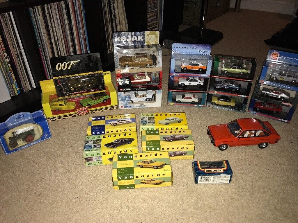 Corgi/Vanguards/Lledo Assortment Model Cars (Ford,Rover,BMC,Aston ...