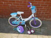 Children's frozen bike 16""