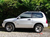 Suzuki Grand Vitara 1.6 1600 Sport 12 months MOT 4x4 Legendary off-roader £200 PRICE REDUCTION