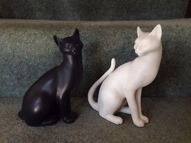 Franklin Mint Proclain Cats