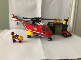 LEGO CITY FIRE AND RESCUE HELICOPTER SET