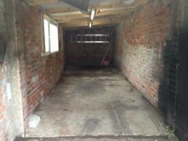 "Garage 32'4"" x 7'4"" for rent Electric and Water"