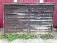 2x 4ft fence panels