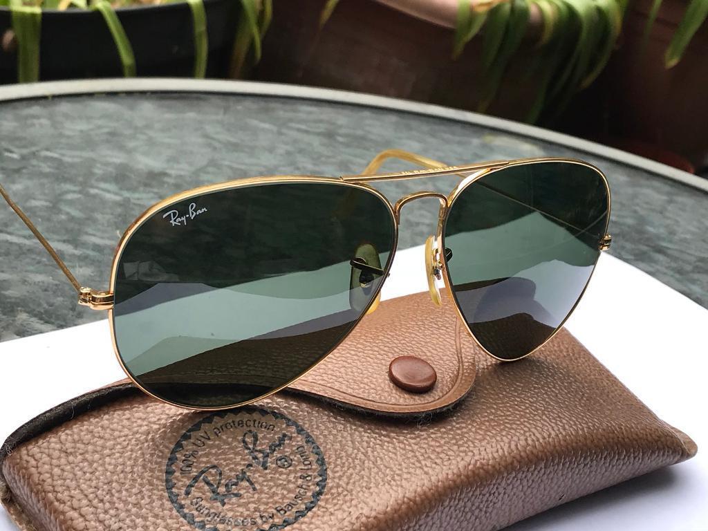 eb9c062cb24df Ray ban aviator sunglasses size 62  14