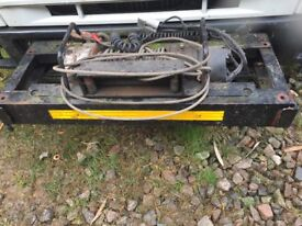 24v 3500k winch , cables ,snatch block etc/