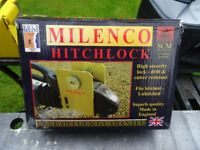 boxed Milenco Winterhoff WS 3000 caravan hitch lock with 3 keys insurance approved