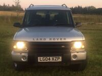 LANDROVER DISCOVERY PURSUIT TD5, 2004/04, MOT JUNE 2018, SILVER, 7 SEATS