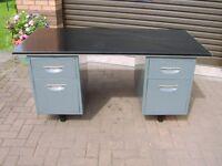 Office desk , 4 drawer ,sturdy metal construction