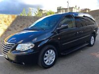 CHRYSLER GRAND VOYAGER LIMITED XS AUTO - STOW'N'GO, FULL LEATHER, SAT NAV, REAR DVD, ELECTRIC DOORS
