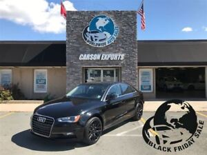 2016 Audi A3 LOOK 1.8T KOMFORT! $183..00 BI-WEEKLY+TAX!