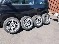 "15"" alloys 4x108 Peugeot 106 saxo ford fiesta"