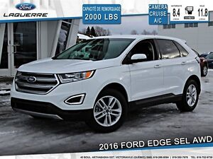 2016 Ford Edge **SEL*AWD*CAMERA*CRUISE*A/C*SIÈGES CHAUFFANTS**