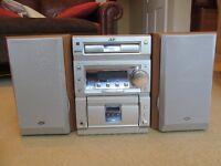 JVC CA-UXP55 Micro Stereo System