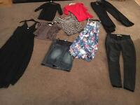 Size 10 and 12 maternity clothes