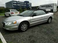 CHRYSLER SEBREEM CONVERTIBLE 2005 AUTOMATIC TEL 07377926604