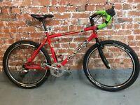 Kona Nunu 17.5 inch frame adventure bike with steel forks