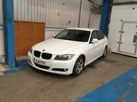 Bmw 320d white ONLY 2 owner from new!!!!!!