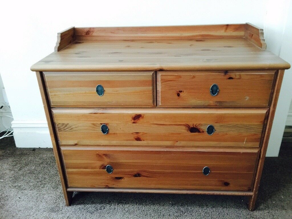 New IKEA Leksvik chest of 4 drawers | in Luton, Bedfordshire | Gumtree MJ82