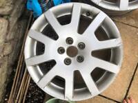 2x Skoda fabia vrs alloy wheels for sale.