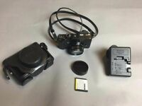 Excellent Fujifilm Fuji X10 compact camera with extras from careful owner