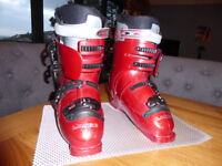 Lange MAX 4 ski boots, size 8/9, used once,