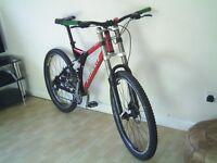 Full Suspension Specialized Mountain Bike - 21 gears - Light Weight Aluminium