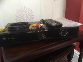 BT Vision box with 2 remotes