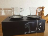 Nespresso Coffee Cups and Saucers