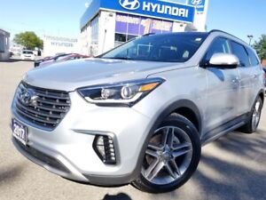 2017 Hyundai Santa Fe XL Limited-Moonroof-Leather-Navi