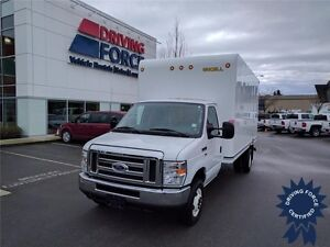 2016 Ford E-450 16 Ft Cube Van Rear Wheel Drive - 19,639 KMs