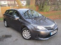 2012 TOYOTA AVENSIS 2.0 D4-D T2 5 DR ESTATE~ONE OWNER ~HISTORY~WARRANTY~£30YRS TAX~FREE DELIVERY~