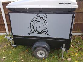 Small, light trailer,good for fishing