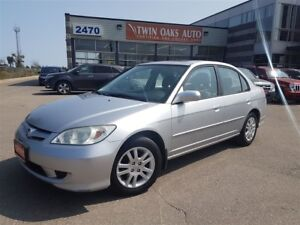 2005 Honda Civic LX-G - ALLOY WHEELS -SUNROOF - CERTIFIED!