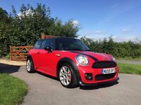 STUNNING MINI COOPER WITH FACTORY FITTED JCW BODYKIT, FSH,MOT