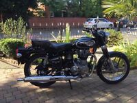 ROYAL ENFIELD 500 CLASSIC 2014 -1124 MILES MUST BE SEEN SPOTLESS SOUNDS GREAT ,FINANCE ETC £2650